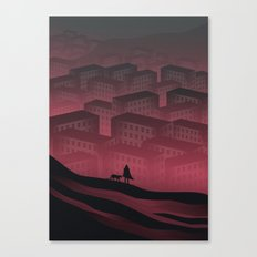 Sleeping Town Canvas Print
