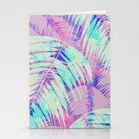 Maui Palm {Pink A} Stationery Cards