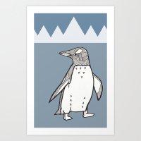 Lil Penguin Art Print