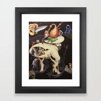 The Garden of Muppetly Delights Framed Art Print