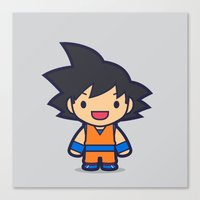 FunSized GoKu Canvas Print