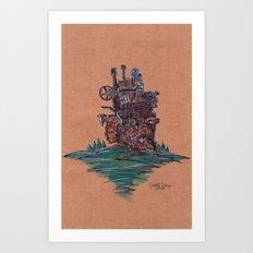 The Moving Castle Art Print