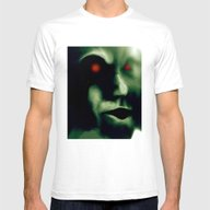 The Green Visitor Mens Fitted Tee White SMALL