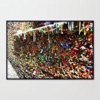 Gum Ledge Canvas Print