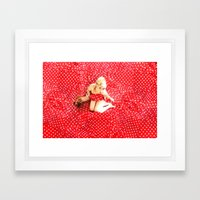 I'm going Slightly Mad..... Framed Art Print