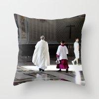 Vatican Rome Throw Pillow