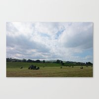 Pateley Bridge #1 Canvas Print