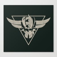 UFO Robot Goldrake Canvas Print