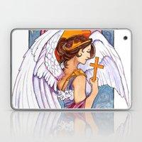 Giovanna - Art Nouveau Angel Laptop & iPad Skin