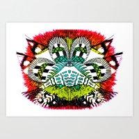 Ubiquitous Bird Collection3 Art Print