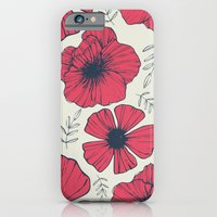 iPhone Cases featuring Raspberry Flowers by Tracie Andrews
