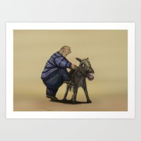 A means of transportation. Art Print