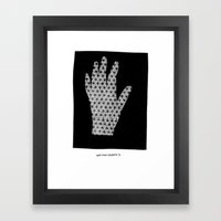 Until the Fingers Began To Bleed 1 Framed Art Print
