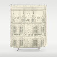 Provincial Trading Co's General Office Shower Curtain
