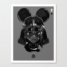 Pepper — Vader Mouse Canvas Print