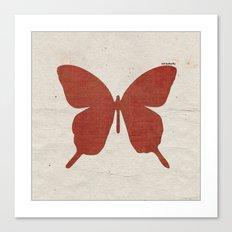 red B Canvas Print