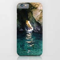iPhone & iPod Case featuring Colorful Ocean Cave by Kevin Russ