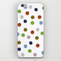 Pinpoint Dots iPhone & iPod Skin