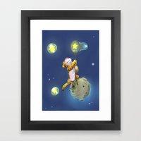 Stars Shepherd Framed Art Print