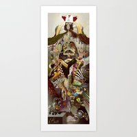 Heaven & Hell Art Print