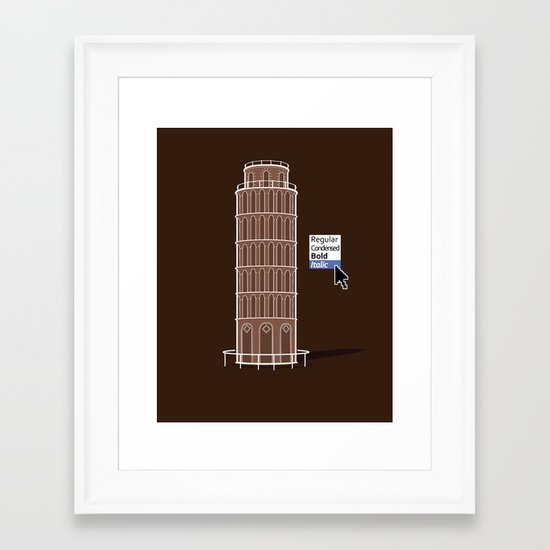 Italyc Framed Art Print