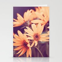 Gold Floral Stationery Cards