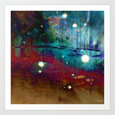 Space Nebula Art Print