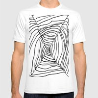 SPIDER WEB BY EDITH BOAM… Mens Fitted Tee White SMALL