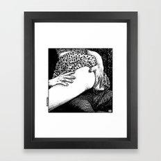 asc 665 - Les rendez-vous du crépuscule (Visitors in the twilight) #04 Framed Art Print