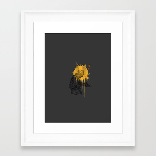 Japanese Cook Framed Art Print