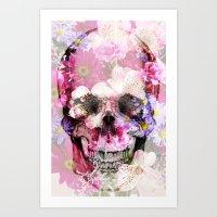 Skull 2.0 Art Print