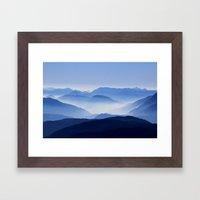 Range Framed Art Print