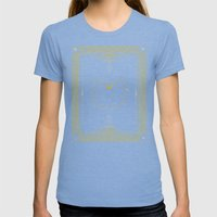 Artemis Womens Fitted Tee Tri-Blue SMALL