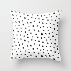 Fingerdots Throw Pillow