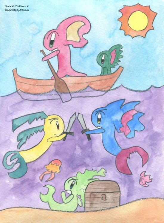 Seafaring Canvas Print