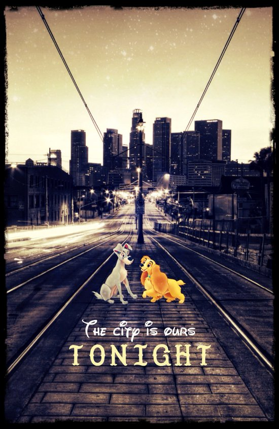 The city is ours tonight - for iphone Art Print