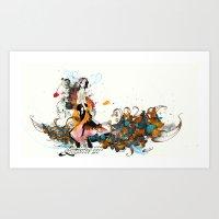 reinvent Art Print