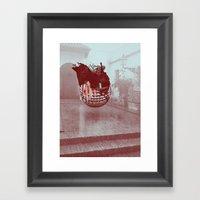 Sevilla Monsters Framed Art Print