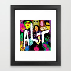 ALT1 by Steven Fiche Framed Art Print