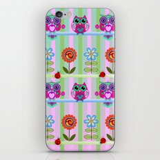 Fantasy Summer Flowers A… iPhone & iPod Skin