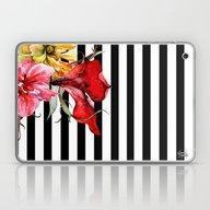 FLORA BOTANICA   Stripes Laptop & iPad Skin