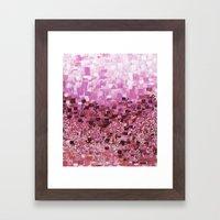 :: Pink Compote :: Framed Art Print