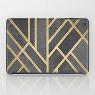 Art Deco Geometry 1 iPad Case