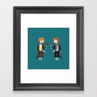 Merry & Pippin Framed Art Print