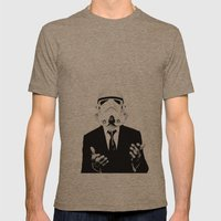 GQ Trooper Mens Fitted Tee Tri-Coffee SMALL