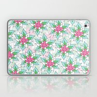 Doodly Flowers Laptop & iPad Skin