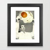 Weird Radiography Framed Art Print