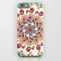 mandala iPhone & iPod Cases featuring Mandala  by famenxt