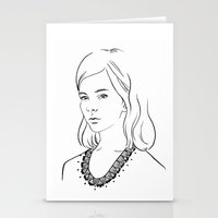 Demoiselle Stationery Cards
