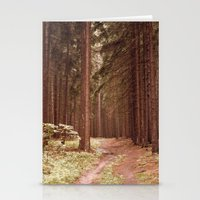 A Path in the Woods Stationery Cards